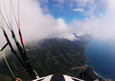 volare in Parapendio alle Cinque terre Spiaggia Monterosso al Mare La Spezia InstinctFly 3