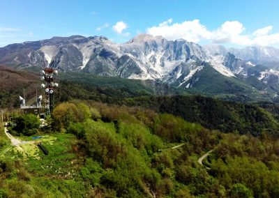 Decollo Parapendio Santa Lucia Carrara Alpi Apuane InstinctFly